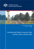 Download complete document - Australian Rail Safety Occurrence Data 1 January 2001 to 30 June 2010