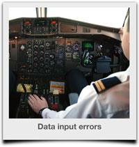 Data input errors