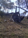 Accident site VH-WOH. Source: ATSB