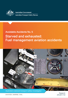 Download complete document - Cover of report, Avoidable Accidents No. 5 - Starved and exhausted: Fuel management aviation accidents