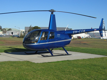 Robinson R44 accident site