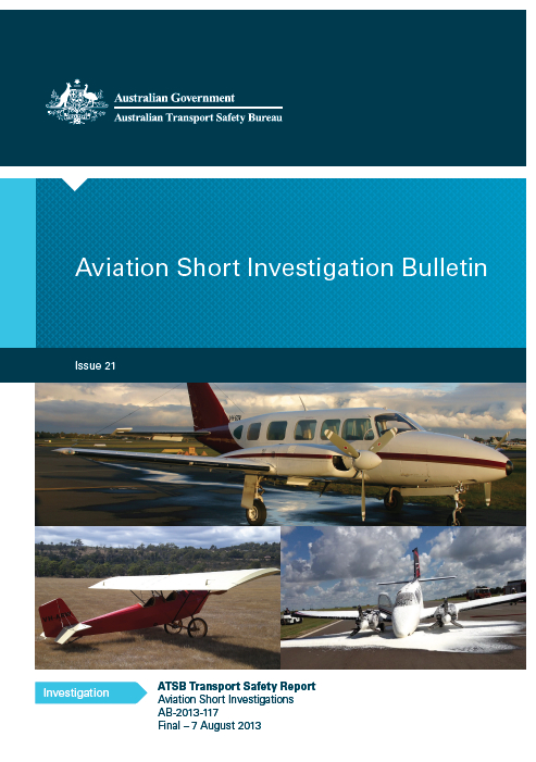 Download complete document - Aviation Short Investigation Bulletin - Issue 21