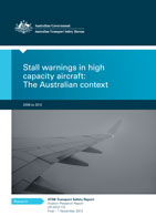 Download complete document - Stall warnings in highcapacity aircraft: The Australian context 2008 to 2012