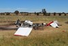 Figure 5: Aircraft wreckage. Source: ATSB.