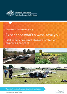 Download complete document - Avoidable Accidents No. 6: Experience won't always save you