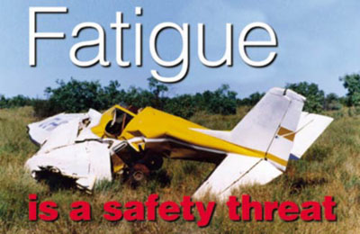 fatigue is a safety threat