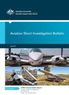 Download complete document - Aviation Shhort Investigation Bulletin - Issue 25