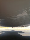 Figure 4: Aircraft skin damage, underbelly and centre section. Source: Aircraft operator.