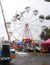 Figure 4: Aircraft entangled in the ferris wheel. Source: NSW Police.