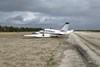 Figure 1: VH-XBC following the landing event at Coonawarra, SA. Source: Aircraft operator.