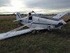Damaged Piper PA-25 VH-SSO. Source: Gliding Federation of Aust.