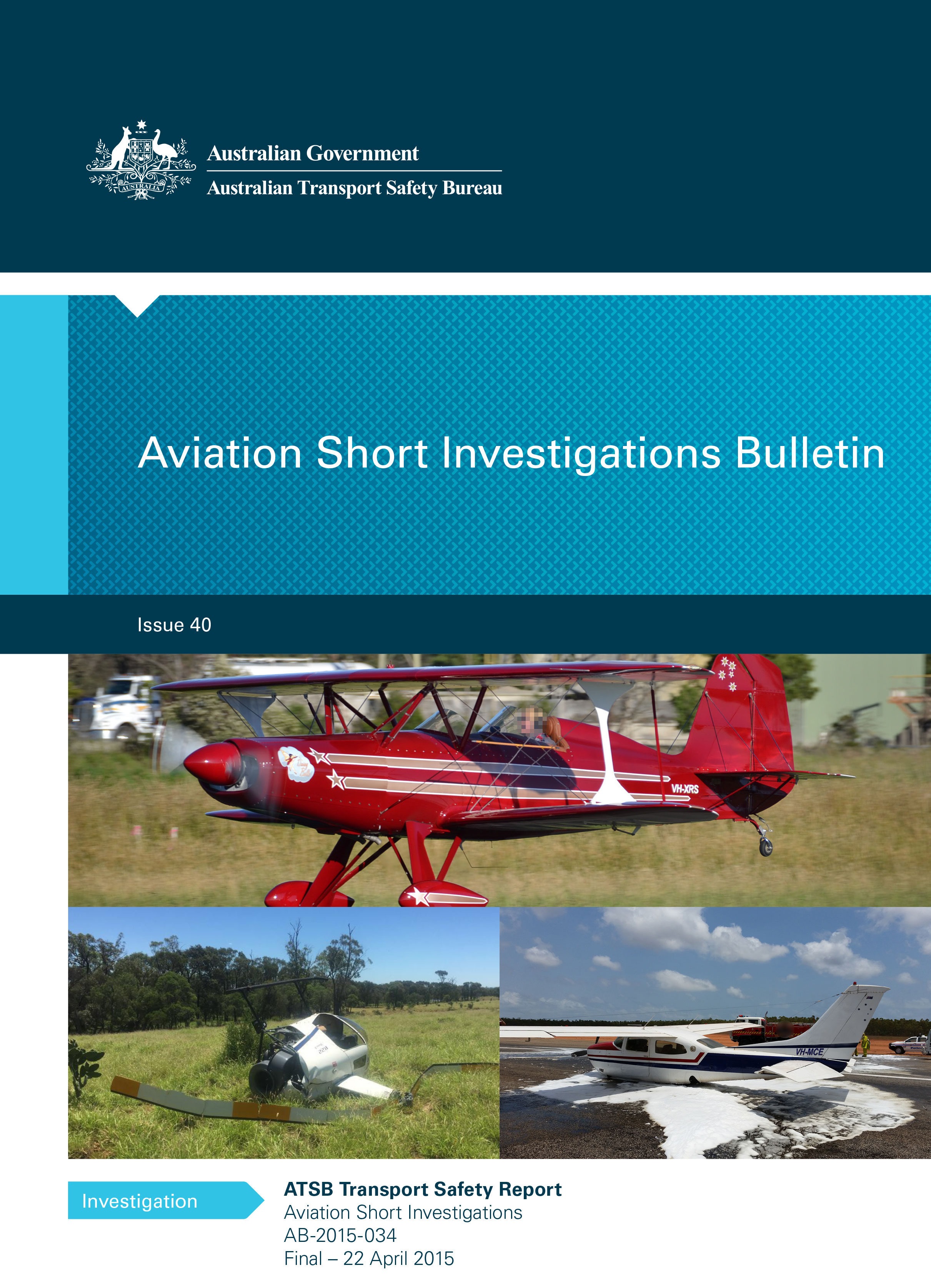 Download complete document - Aviation Short Investigation Bulletin Issue 40