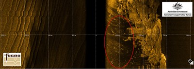 Figure 4: Side Scan Sonar - Category 2 contact