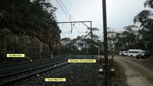 Figure 2: Worksite at Blackheath