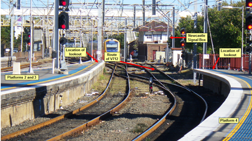 Figure 3: Worksite at Newcastle