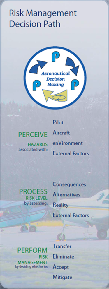 Figure 3: Risk Management Decision Path: Perceive-Process-Perform