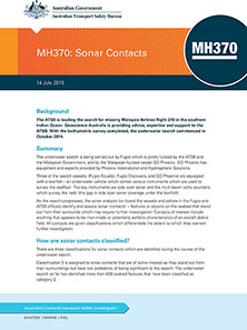 Download complete document - MH370: Sonar Contacts