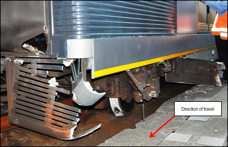 Figure 10: Coachwork damage