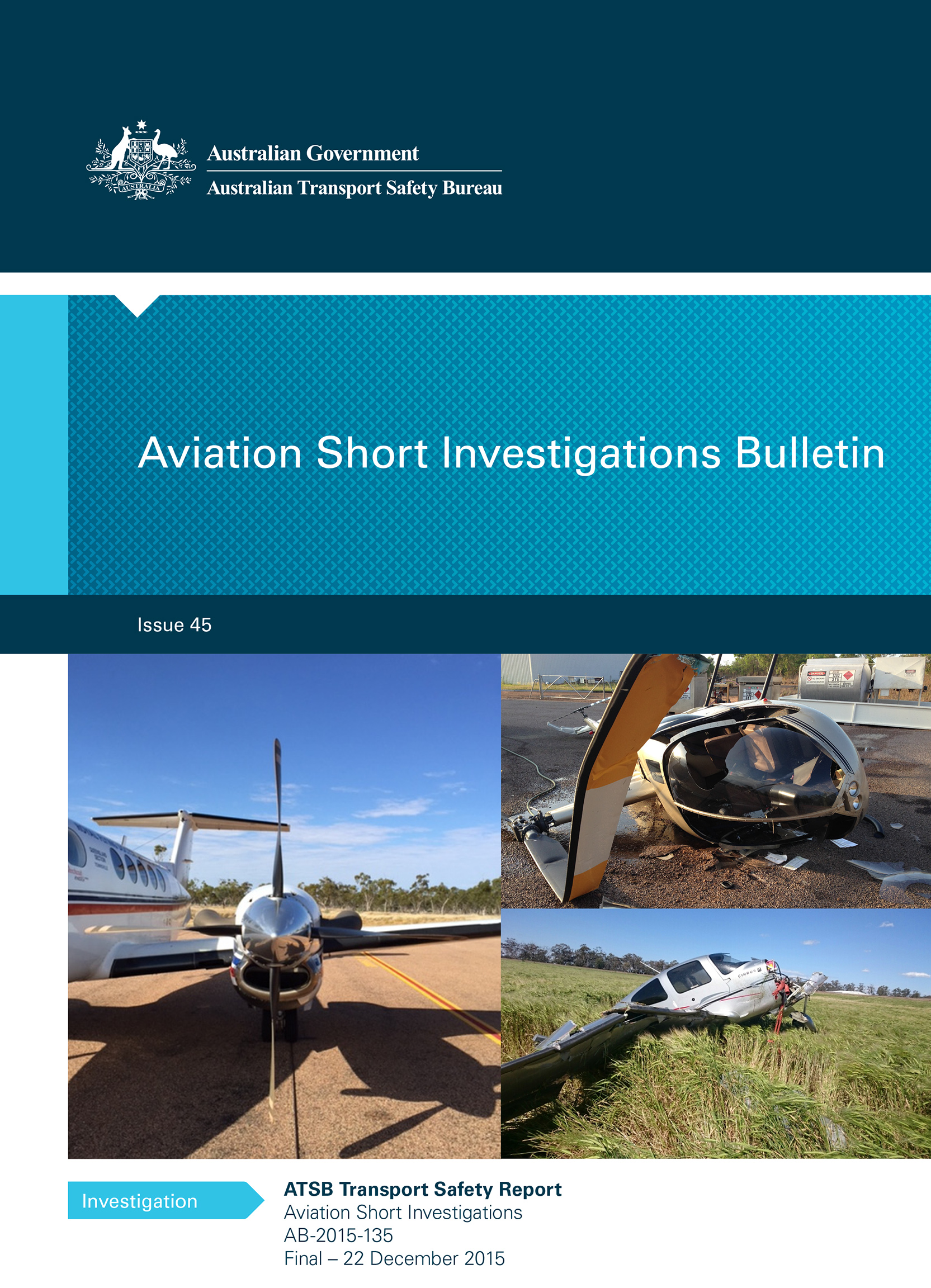 Download complete document - Aviation Short Investigations Bulletin - Issue 45