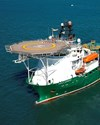 The search vessel Havila Harmony. Source: ATSB, image by Fugro.
