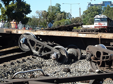 Communications, expectations and visibility issues lead to train collision