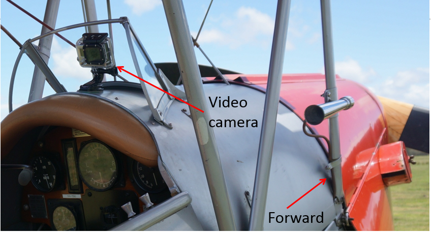 Figure 9: Rear-facing front cockpit camera