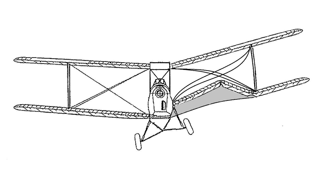 Figure 33: Left wing structural collapse