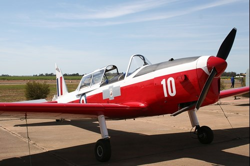 Figure 1: DHC-1 Chipmunk, registered VH-UPD, in 2009. Source: Recreational pilots