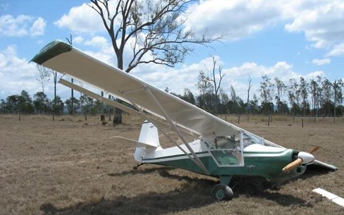 Wreckage of the Skyfox Source: Reporter