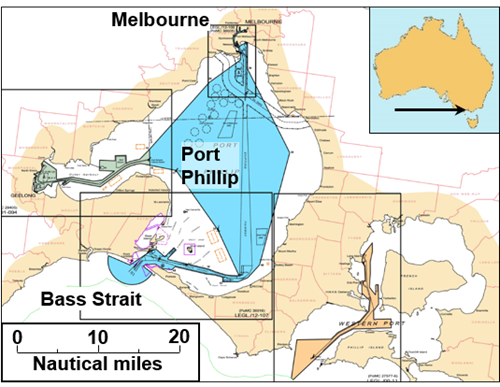 Figure 7: Port Phillip Bay, Victoria