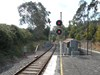 Figure 4: Upwey railway station looking towards Upper Ferntree Gully and signal № 42. Source: Chief Investigator, Transport Safety (Vic)