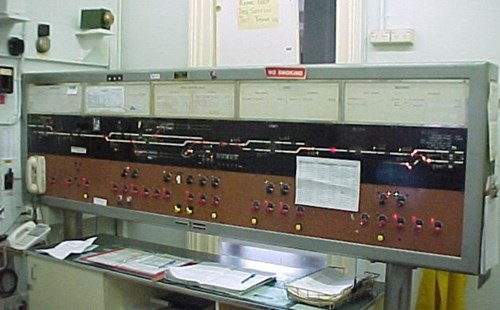 Signal control panel, Upper Ferntree Gully