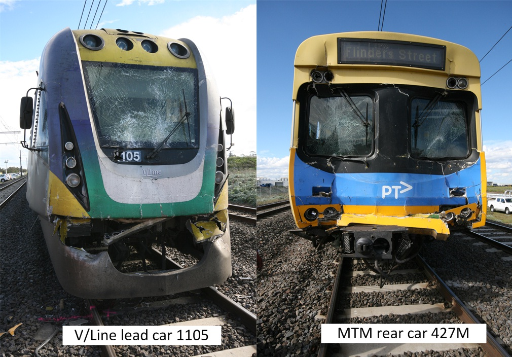 Figure 5: Train damage