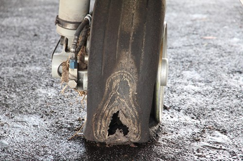 Figure 3: Right tyre. Source: ATSB