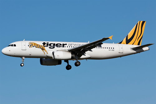 Figure 1: Tiger Airways Airbus A320, VH-VNO