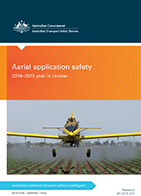 Download complete document - Aerial application safety: 2014 to 2015 year in review