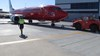 Figure 5: Pushback of the same Virgin flight from bay E1 on the next day. Source: ATSB