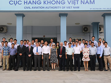 The AAIF course tailored for investigators from the Civil Aviation Authority of Vietnam (CAAV)