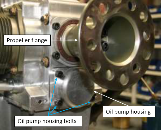 Figure 3: Oil Pump Housing (not incident engine)