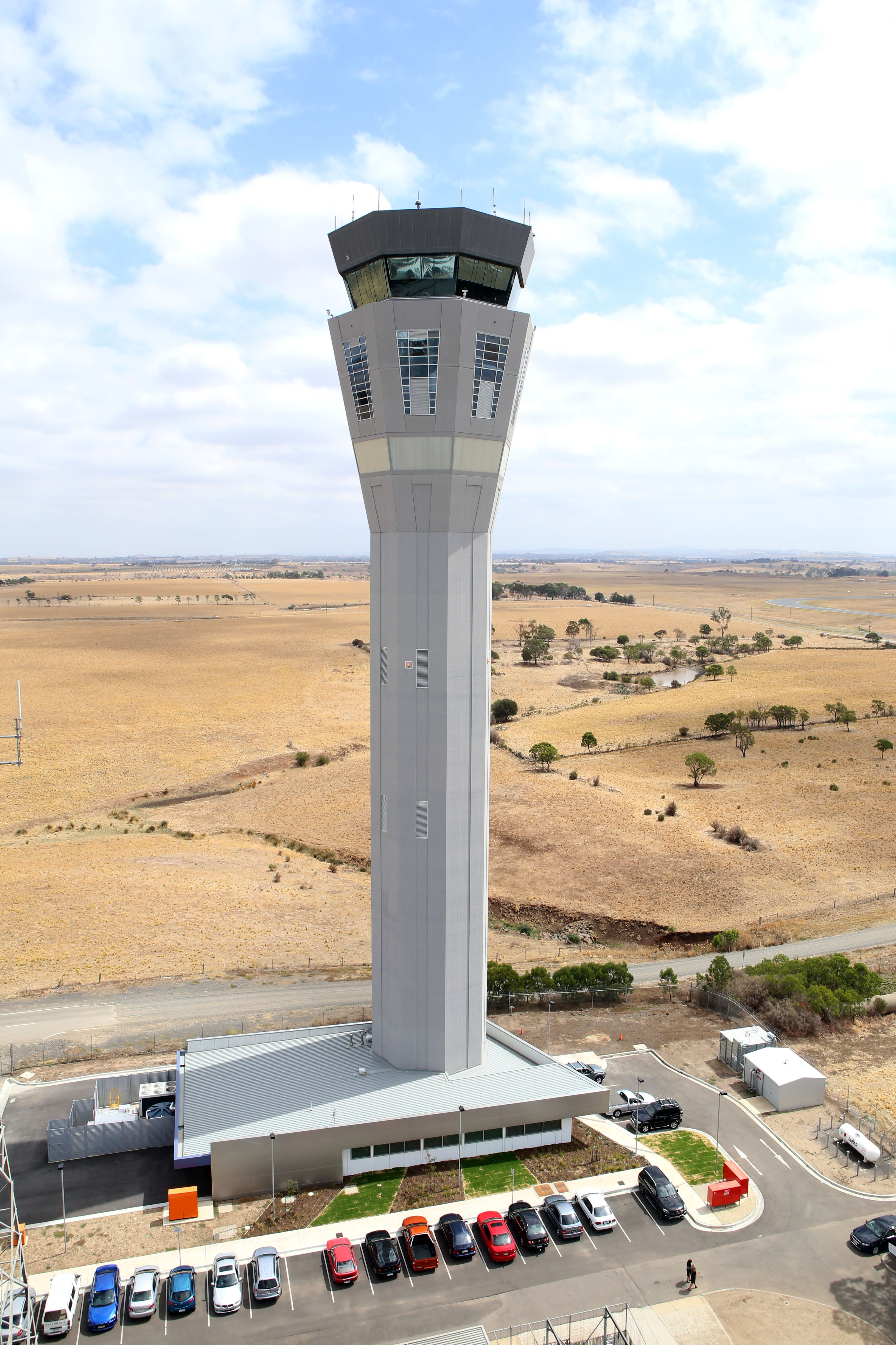 Figure 1: Melbourne airport ATC tower