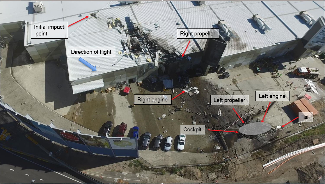 Figure 2: Accident site overview