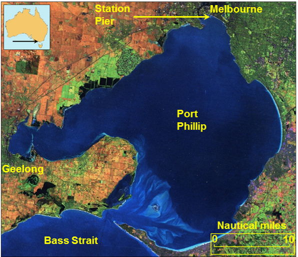 Figure 7: Melbourne and Port Phillip