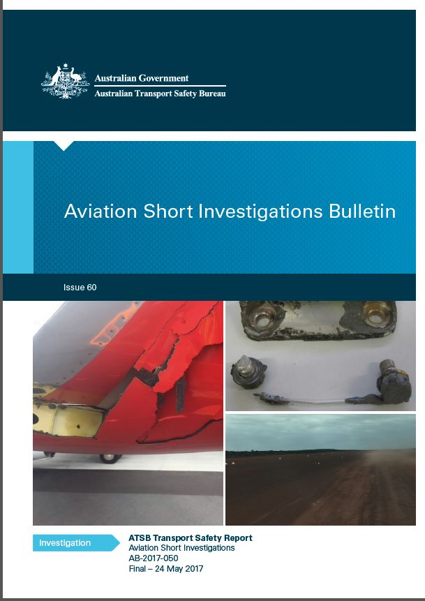 Download complete document - Aviation Short Investigations Bulletin: Issue 60