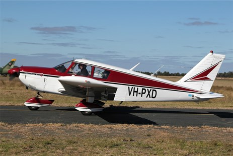 Figure 2: VH-PXD, taken in April 2011 in Echuca, New South Wales