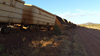 Looking north - derailed ore car. Source: Rio Tinto