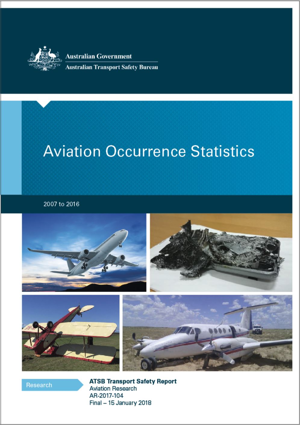 Download complete document - Aviation Occurrence Statistics report 2007 to 2016