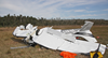 The Airplane Factory Sling 4 amateur-built aircraft, registered VH-BEG. The wreckage of VH-BEG after emergency services had attended. Source: Queensland Police
