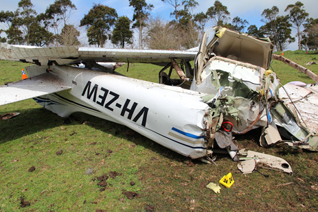 VH-ZEW main wreckage. Source: ATSB