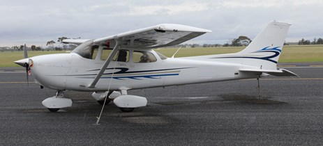 Figure 3: Exemplar Cessna 172S. Source: ATSB