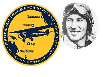 90th anniversary of trans-Pacific first flight
